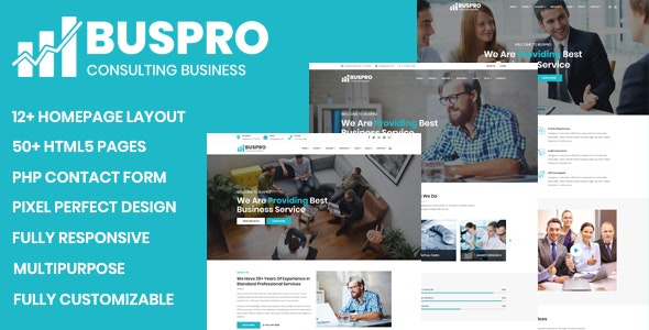 Buspro - Multipurpose Business and Corporate Template - Business Corporate