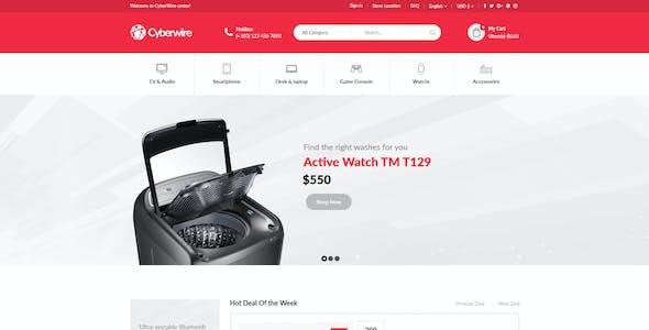 CyberWire - WooCommerce AJAX WordPress Theme