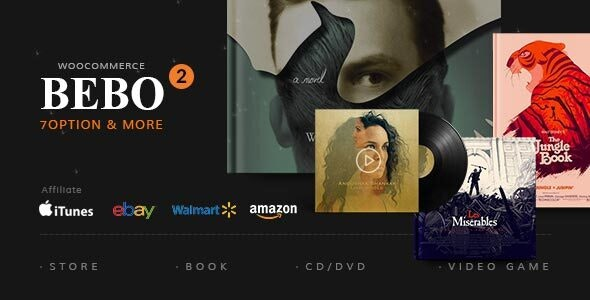 BEBO - Book Issue CD/DVD Store Publish Library WP by Beautheme