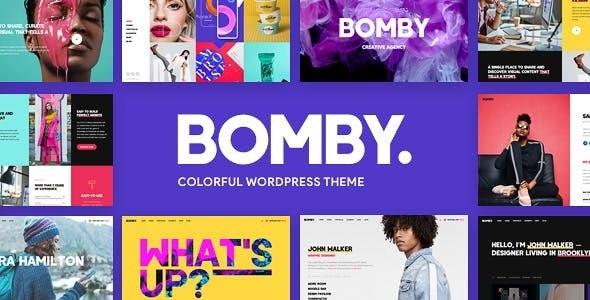 Bomby - Creative Multi-Purpose WordPress Theme by tvdathemes