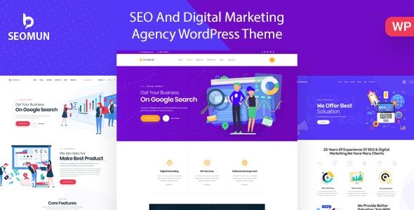 Seomun - SEO & Marketing WordPress - Marketing Corporate