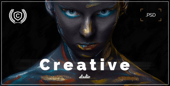 Creative Studio - Landing Page PSD - Marketing Corporate