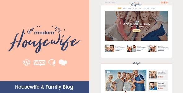 Modern Housewife   Women & Family WordPress Blog Theme