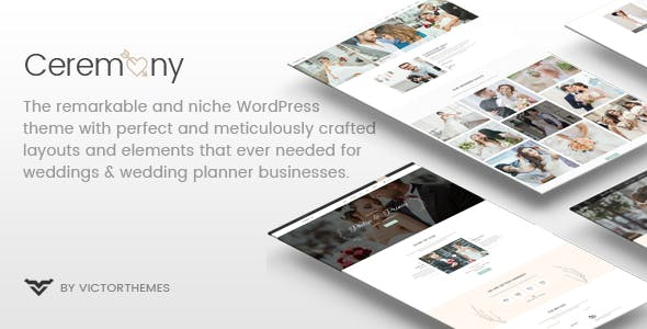 Ceremony - Wedding Planner WordPress Theme nulled theme download