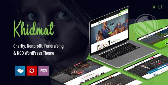 Khidmat - Multipurpose Nonprofit WordPress Theme - Nonprofit WordPress