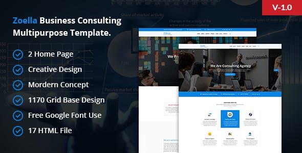 Zoella- Corporate Business Template - Business Corporate