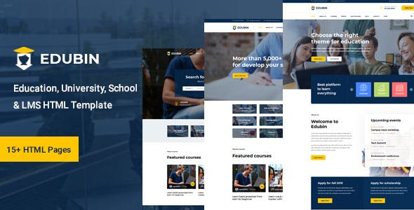 Edubin - Education HTML Template