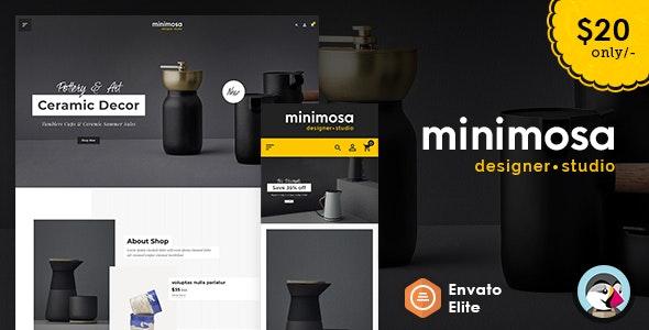 minimosa - Art & Design Studio - Prestashop Multi purpose Responsive Theme - Shopping PrestaShop