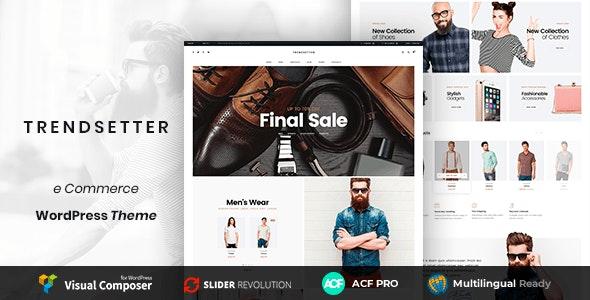 Trendsetter - WooCoomerce Modern Fashion Store - WooCommerce eCommerce