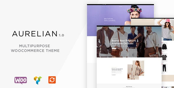 Aurelian - Multipurpose WooCommerce Theme - WooCommerce eCommerce