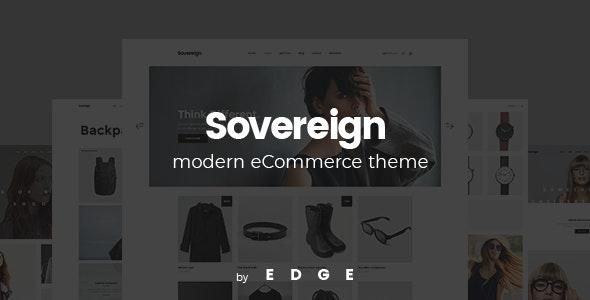 Sovereign - Minimal Fashion & Clothing Store Theme - WooCommerce eCommerce