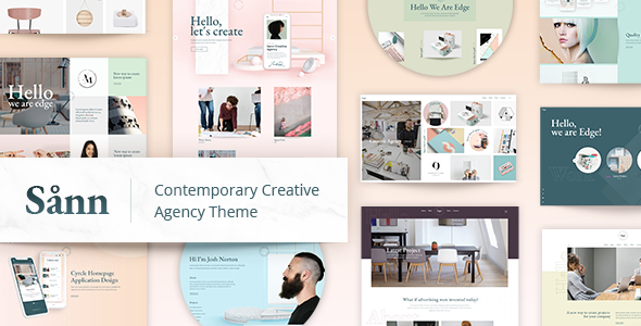 Sånn - Contemporary Creative Agency Theme - Creative WordPress