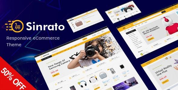 Sinrato - Mega Shop Responsive Magento Theme - Technology Magento
