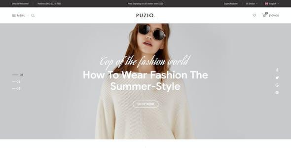 Puzio - Fashion Responsive Prestashop Theme