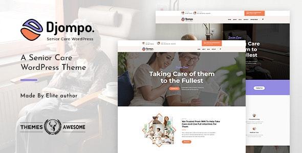 Djompo | Senior Care WordPress Theme - Health & Beauty Retail