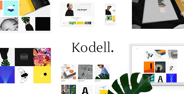 Kodell - Creative Portfolio Theme for Designers and Agencies - Portfolio Creative