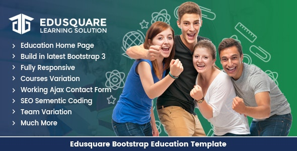 Edu Square Education LMS Bootstrap Template