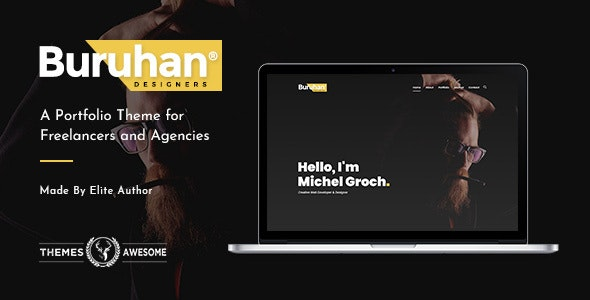 Buruhan | A Portfolio Theme for Freelancers and Agencies - Portfolio Creative