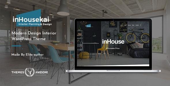 Inhousekai | Modern Design Interior WordPress Theme - Portfolio Creative