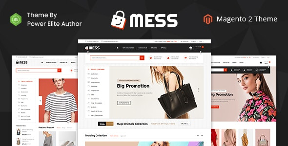 Mess - Responsive Magento 2 Theme - Fashion Magento