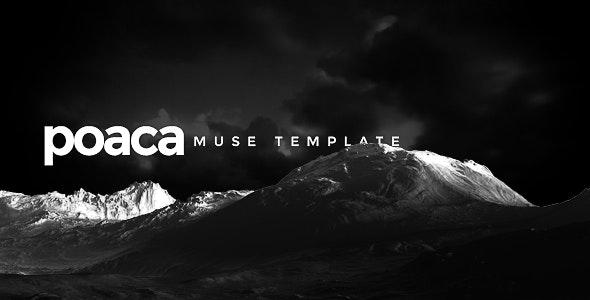 Poaca Muse Template - Creative Muse Templates