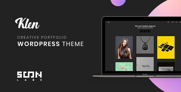 Klen - Creative Portfolio WordPress Theme - Portfolio Creative