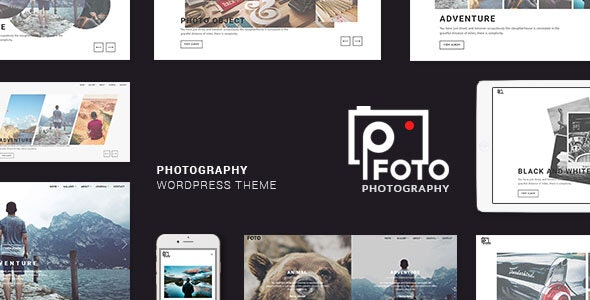 Foto - Photography WordPress Themes for Photographers by