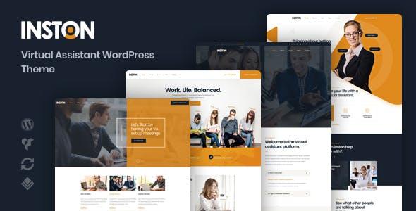 Inston - Virtual Assistant WordPress Theme - Business Corporate