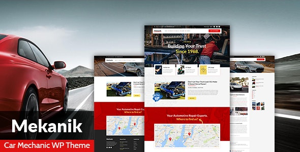 Mekanik - Car Mechanic WordPress Theme - Business Corporate