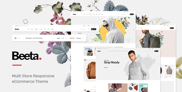 Beeta - Prestashop Theme - Fashion PrestaShop