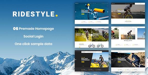 Ridestyle - Sport, Bicycle Responsive PrestaShop 1.7 Theme - Shopping PrestaShop