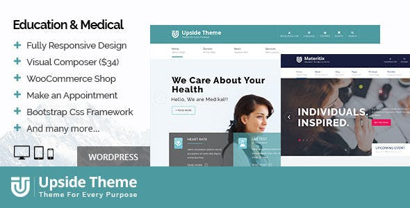Upside - Multi purpose WordPress theme