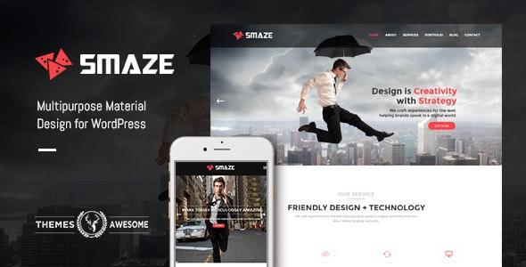 Smaze - Multipurpose Modern Theme - Business Corporate