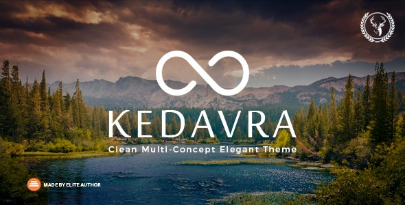 Kedavra - Clean Multi-Concept Elegant Theme - Miscellaneous WordPress