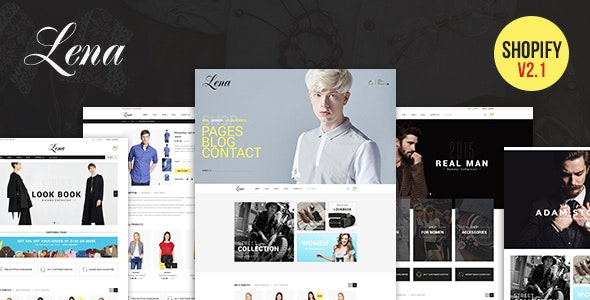 Lena - Responsive Shopify Theme - Shopify eCommerce