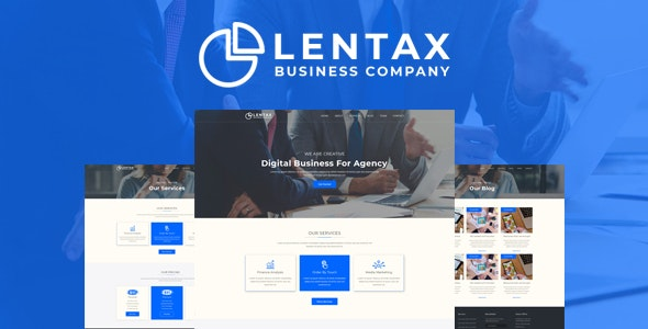 Lantex - Corporate & Business PSD Template - Corporate Photoshop