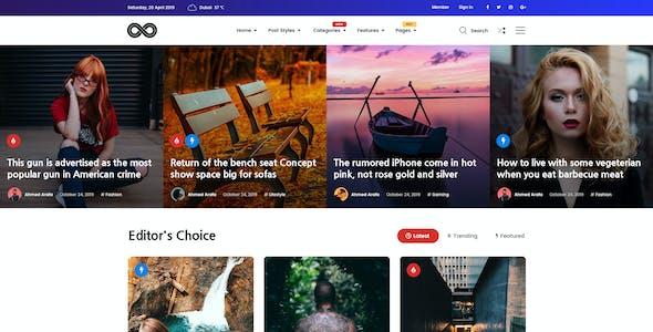 Magala - Magazine & Blog PSD Template