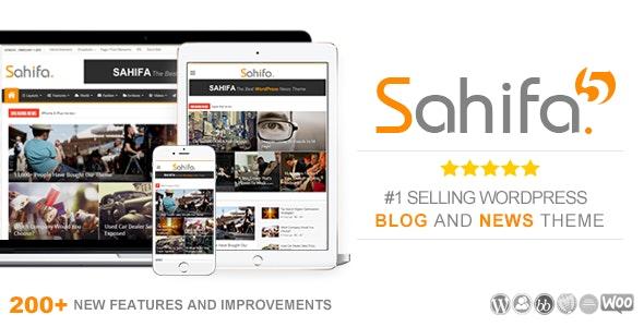 Sahifa - Responsive WordPress News / Magazine / Blog Theme by TieLabs