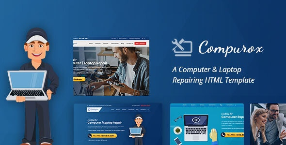 Compurox - Computer Repair HTML Template - Business Corporate