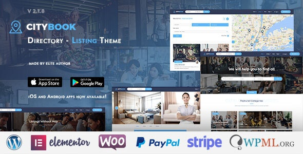 CityBook - Directory & Listing WordPress Theme by cththemes