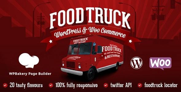 Food Truck & Restaurant 20 Styles - WP Theme - Restaurants & Cafes Entertainment