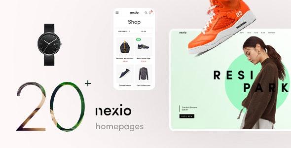 Nexio - Fashion WooCommerce Theme +  RTL - WooCommerce eCommerce