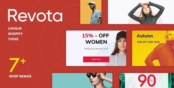 Revota Shopify Theme - Fashion Shopify