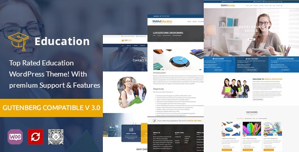 Education WordPress Theme - EduBox - Education WordPress