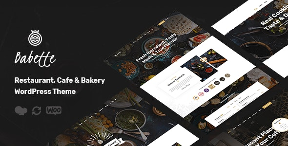 Babette - Restaurant & Cafe WordPress Theme - Restaurants & Cafes Entertainment