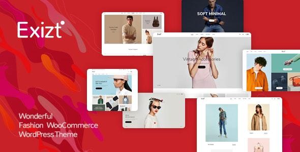 Exizt  - Fashion WooCommerce WordPress Theme - WooCommerce eCommerce