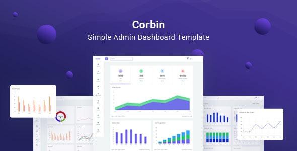 Corbin - Simple Admin Dashboard - Admin Templates Site Templates