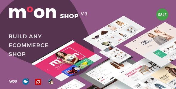 Moon Shop – Responsive eCommerce WordPress Theme for WooCommerce
