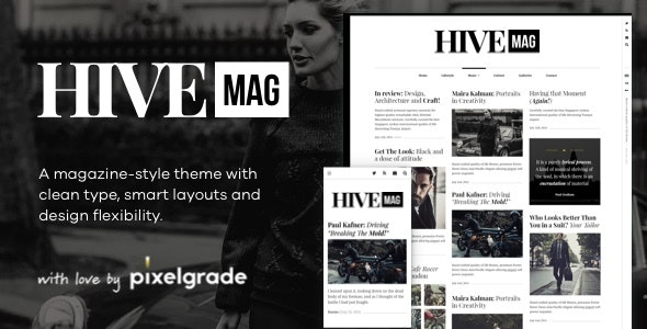 HiveMag - An Elegant WordPress Blog Theme - Blog / Magazine WordPress