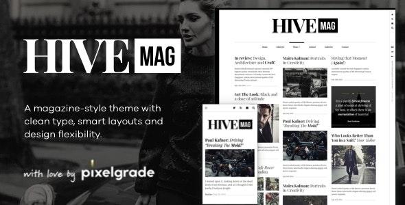 HiveMag - An Elegant WordPress Blog Theme - Blog / Magazine WordPress